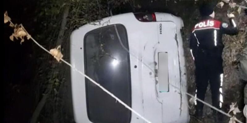 Aracı bırakıp kaçtı! Polise verdiği cevap şaşkınlık yarattı