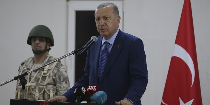 Cumhurbaşkanı Erdoğan: 82 milyonun her ferdinin duası daima sizinledir