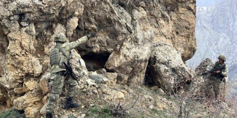Irak'ın kuzeyinde Hakurk'ta 7 terörist etkisiz hale getirildi