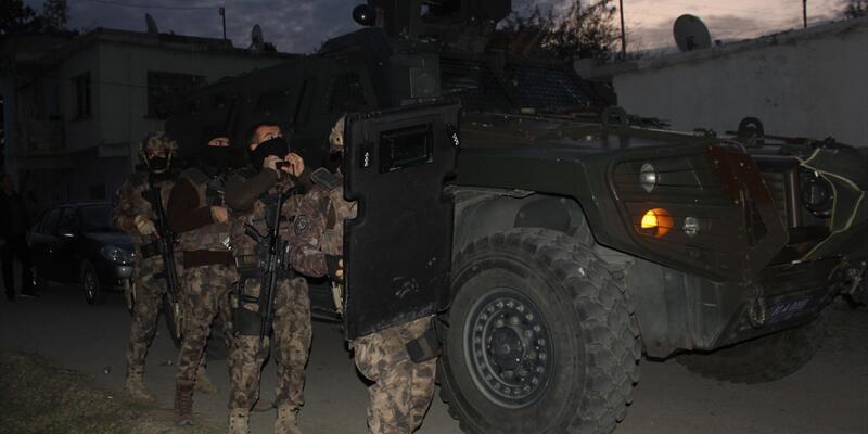 Osmaniye'de aranan şüphelilere şafak operasyonu