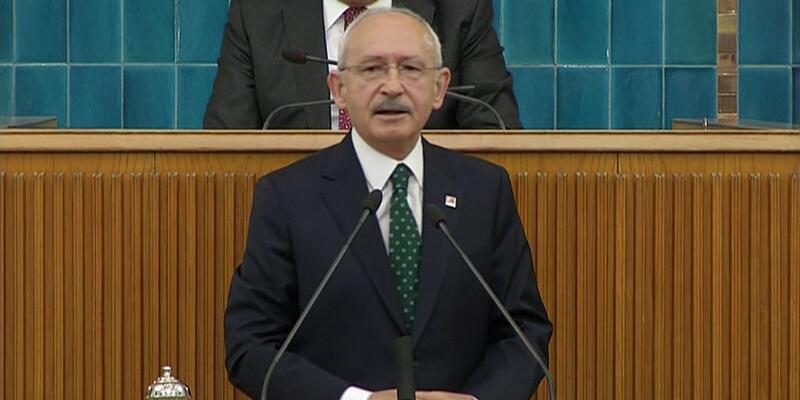 Kemal Kılıçdaroğlu CHP Parti Grubu'nda açıklamalarda bulundu