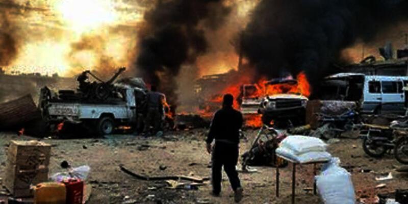 Tel Halef köyünde patlama: Çok sayıda ölü ve yaralı var