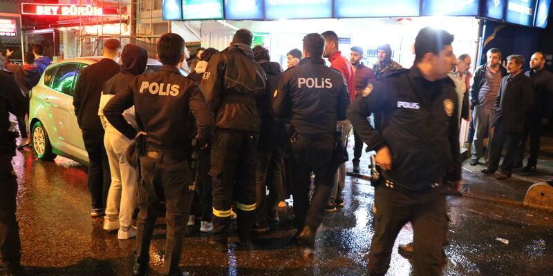 İstanbul'da trafik kazası sonrası silahlar çekildi