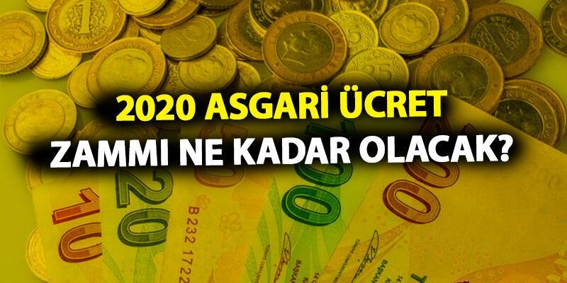 2020 asgari ücret zammı ne kadar olacak? Gözler komisyonda!