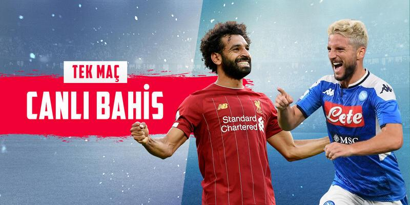 Liverpool-Napoli maçına Mislicom'da CANLI OYNA!