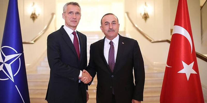 Bakan Çavuşoğlu, Stoltenberg ile görüştü