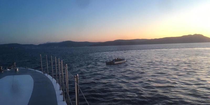 Bodrum açıklarında 29 kaçak göçmen yakalandı