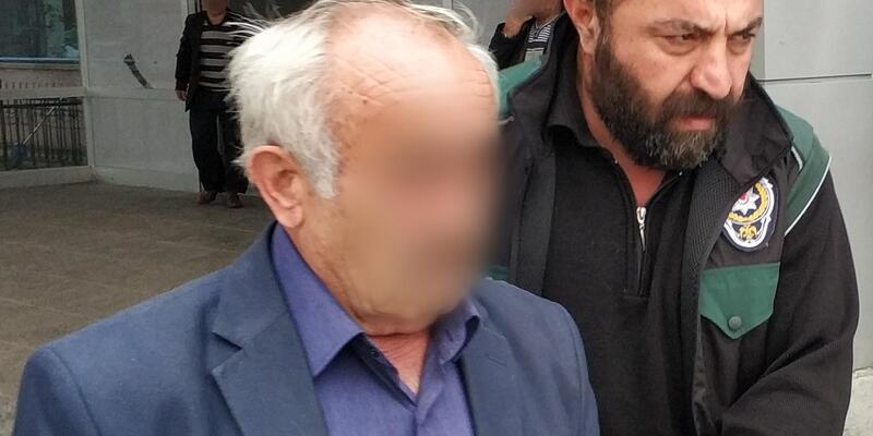 Esrarla yakalanan yaşlı adam tutuklandı