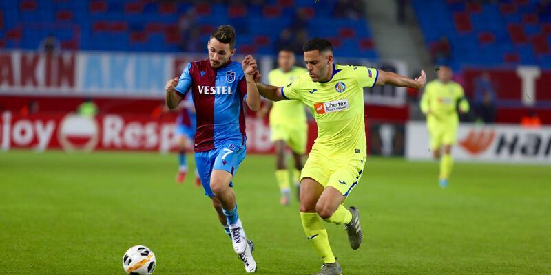 Trabzonspor sahasında Getafe'ye kaybetti