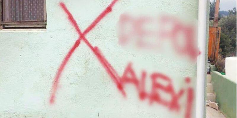 Evine işaret konulan Alevi vatandaş: Aslolan insanlıktır, ayrışmaya izin vermeyeceğiz