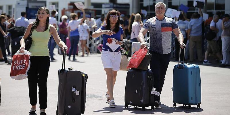 Son dakika... Türkiye'ye gelen turist sayısında yüzde 14,47 artış