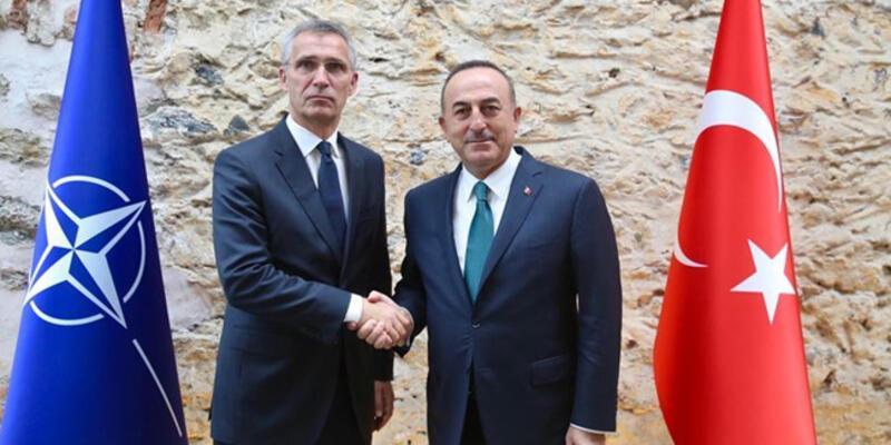 Dışişleri Bakanı Çavuşoğlu, Stoltenberg ile görüştü