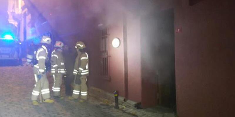 Masumiyet Müzesi'nde korkutan yangın