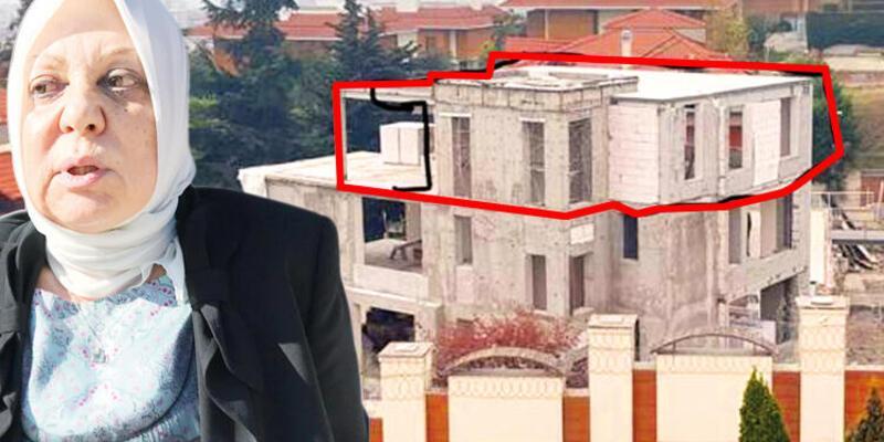 """Belediyeden Ahsen Unakıtan'a tepki: """"Onarım dedi, ada manzaralı ev dikti"""""""