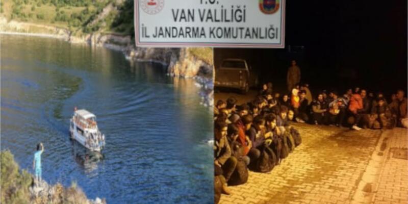 Van'da kaçak göçmen ve organizatörler yakalandı