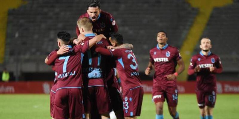 Trabzonspor, Altay'ı deplasmanda 2-1 mağlup etti