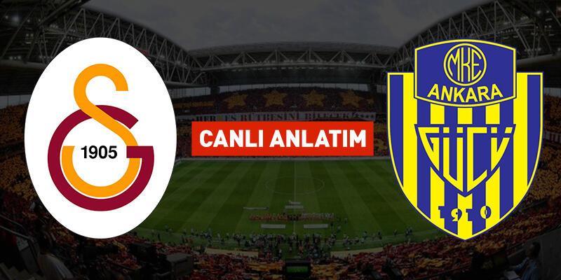 Galatasaray Ankaragücü CANLI YAYIN