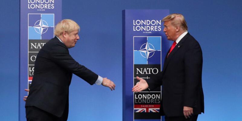 Trump ve İngiltere Başbakanı Johnson telefonda görüştü