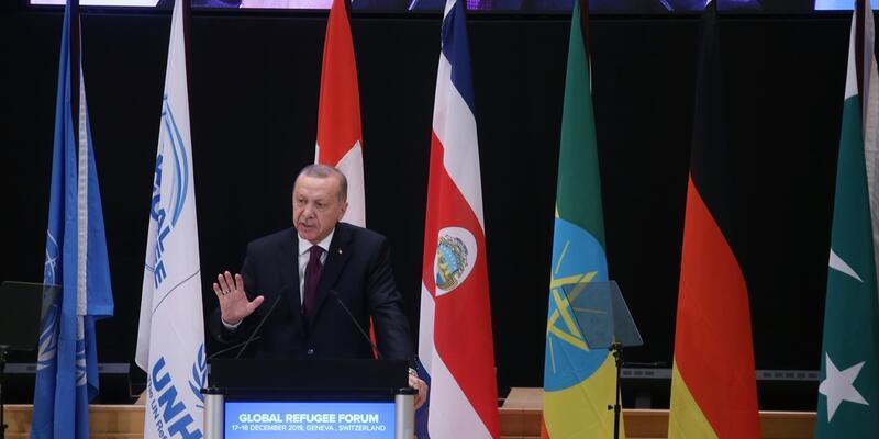 Cumhurbaşkanı Erdoğan Cenevre'de: Avrupa'dan hala ses yok!
