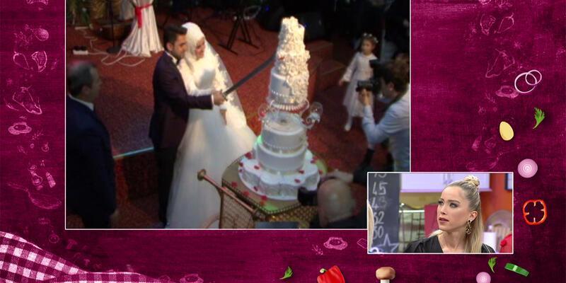 Goncanur'un düğününden özel anlar
