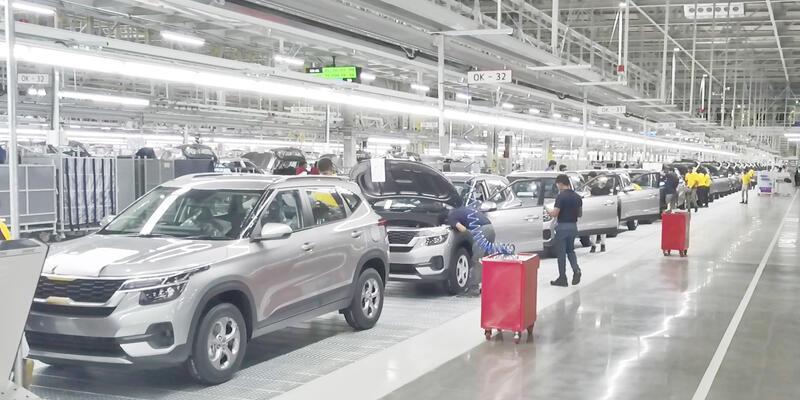 Kia, üçüncü üretim merkezini Hindistan'da açtı