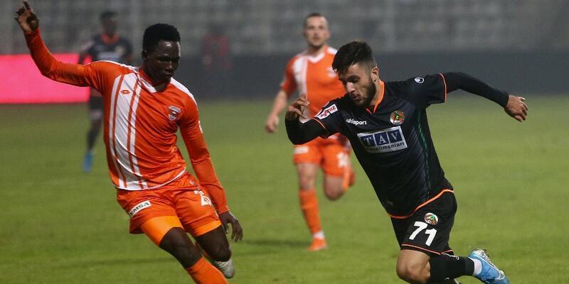 Alanyaspor'dan Adanaspor'a 7 gol