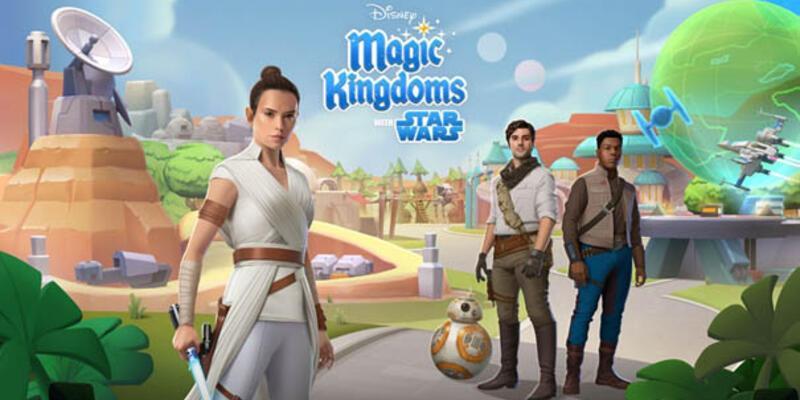 Star Wars: Skywalker'ın Yükselişi Disney Magic Kingdoms'ta Kutlanıyor!