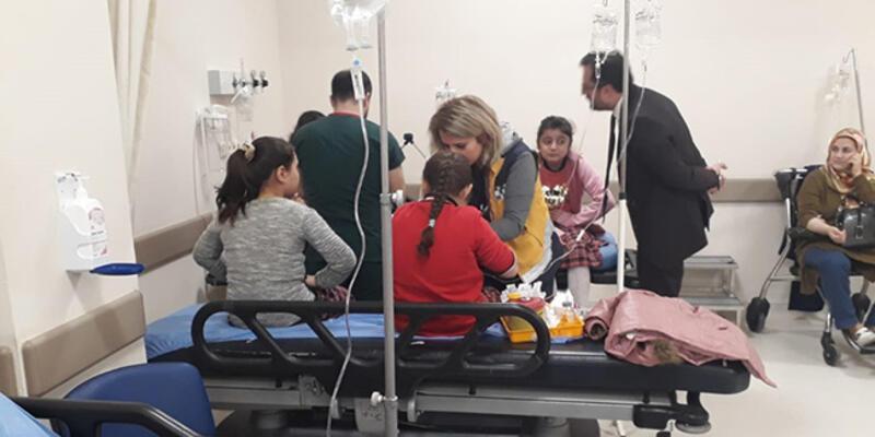 Tokat'ta 41 öğrenci hastanelik oldu