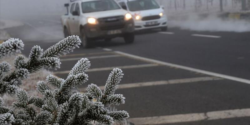 Meteoroloji'den sis ve buzlanma uyarısı