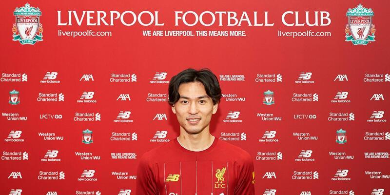 Liverpool Takumi Minamino'yu transfer etti