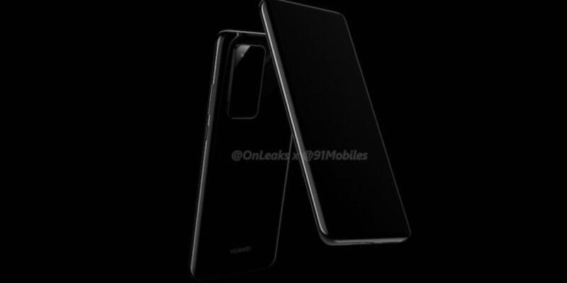 Huawei P40 tasarımı ile karşımıza çıktı
