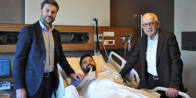 Yeni Malatyasporlu Eren Tozlu ameliyat oldu