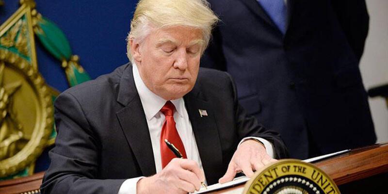 Trump'tan skandal Türkiye adımı! Ve imzaladı
