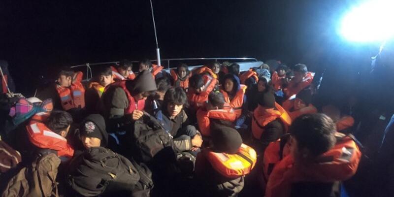 Kaçak göçmenler Balıkesir'de yakalandı