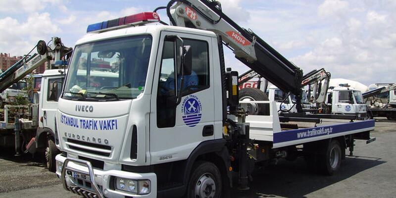Son dakika: Trafik Vakfı İstanbul'da araçları çekemeyecek