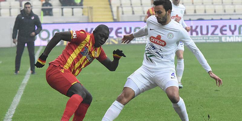 Yeni Malatyaspor - Çaykur Rizespor: 0-2