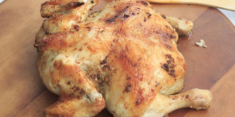 Fırında Bütün Tavuk Tarifi: Bütün Tavuk Fırında Nasıl Yapılır? Fırında Nasıl Kaç Derecede Pişer? En Güzel Bütün Tavuk Yapımı