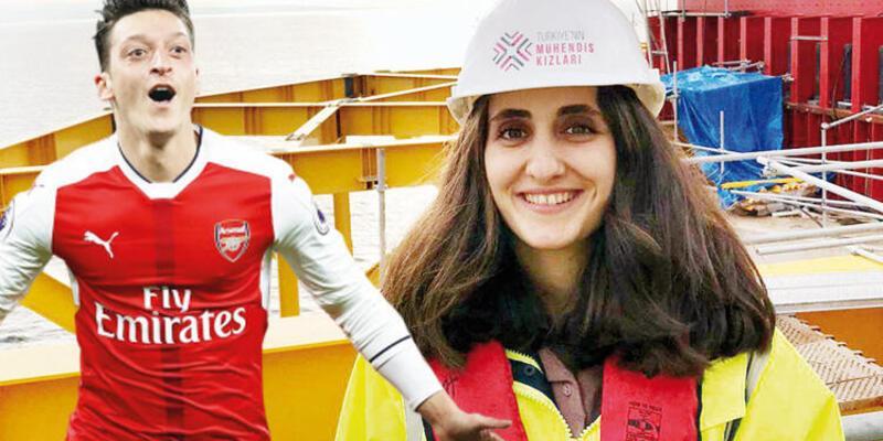 Hikayesini Mesut Özil paylaştı: Muşlu Kübra'yı dünya duydu