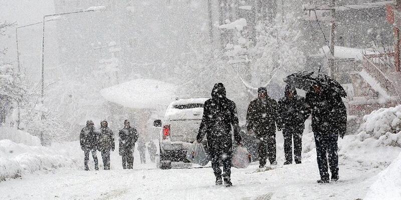 9 il için yoğun kar yağışı uyarısı