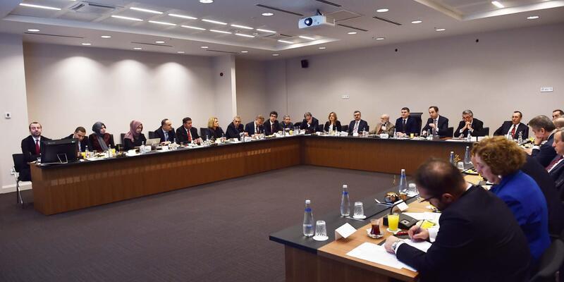 Cumhurbaşkanlığı Külliyesi'nde 'Doğu Akdeniz' çalıştayı