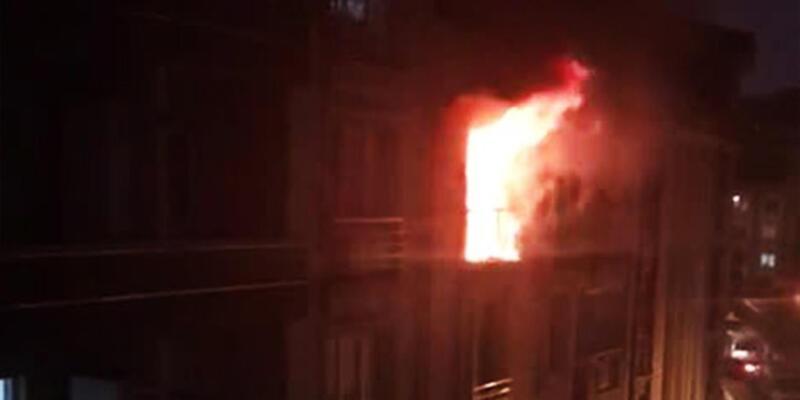 Facia şans eseri önlendi! İstanbul'da 5 katlı binada yangın