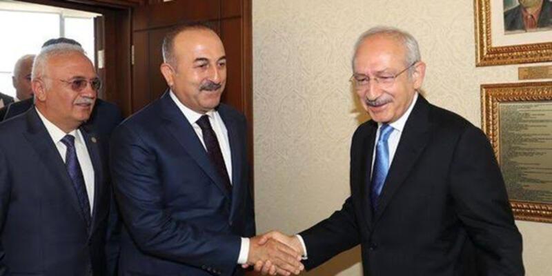 Son dakika... Çavuşoğlu'ndan muhalefete Libya tezkeresi turu