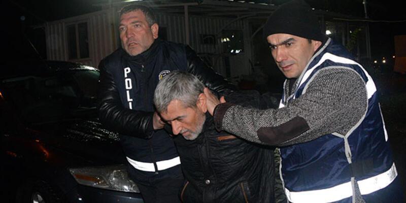 Suç makinesi çarşıda gezerken yakalandı