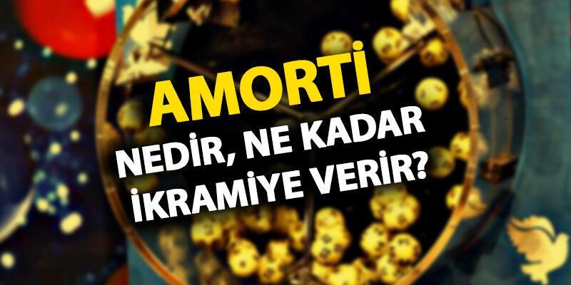 Amorti ne kadar ikramiye verir? Amorti numaraları (sayıları) kaç?