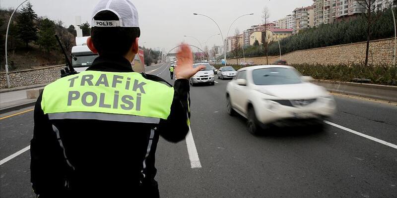 Yılbaşında 16 bin 478 trafik kural ihlali tespit edildi