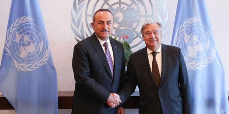 Çavuşoğlu, BM Genel Sekreteri ile görüştü