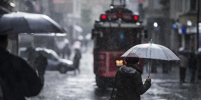 İstanbul'da metrekareye 36,3 kilogram yağış düştü