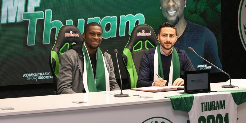 Rogerio Thuram resmen Konyaspor'da