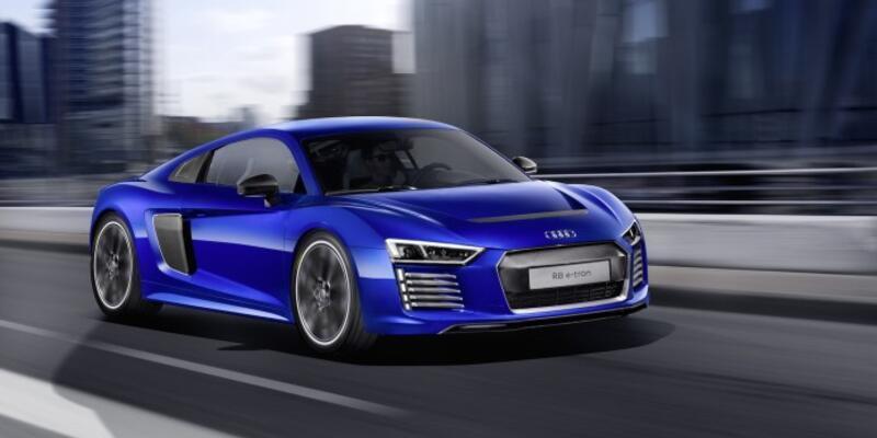 Audi elektrikli araçları artık yüksek hıza odaklanacak