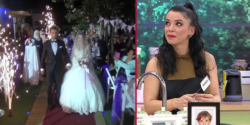 Burçin'in düğününden özel görüntüler